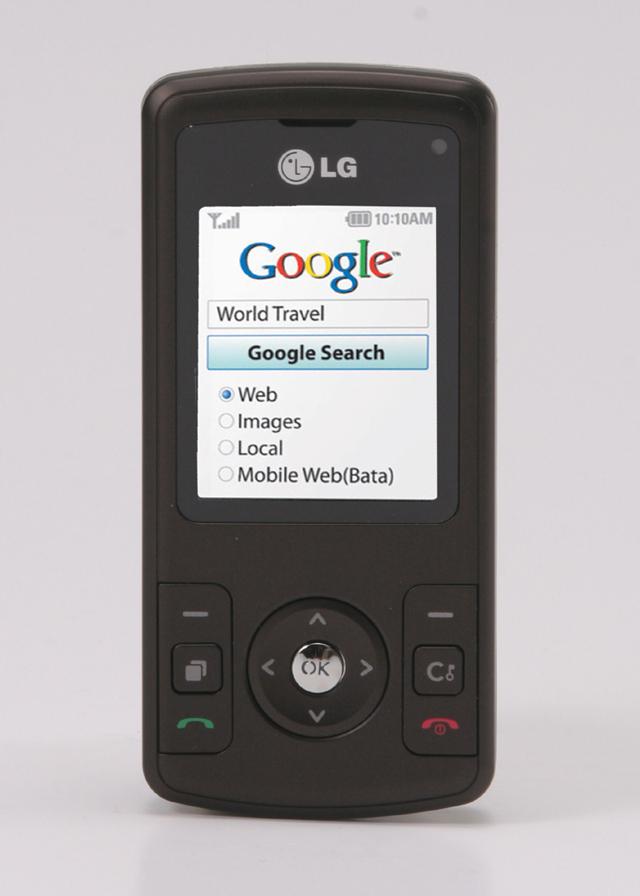 LG KU385 google sml
